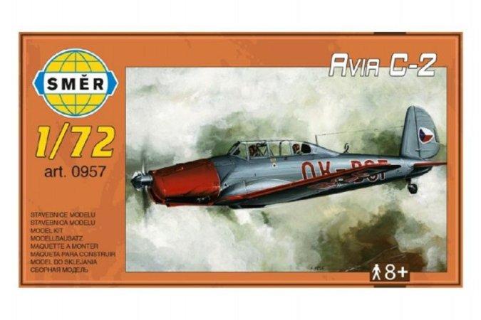Směr Plastikový model letadla Model Avia C-2