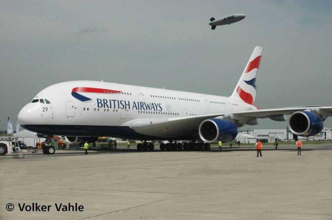 Revell Plastikový model letadla Airbus A380-800 British Airways