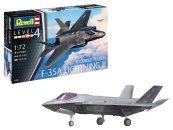 Revell Plastikový model letadla F-35A Lightning II