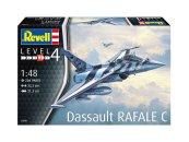 Revell Plastikový model letadla Dassault Rafale C