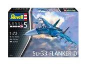 Revell Plastikový model letadla Sukhoi Su-33 Navy Flanker