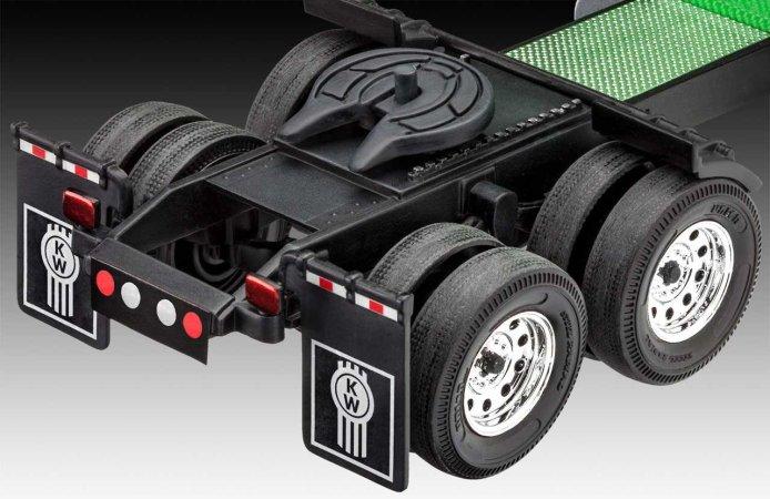Revell Plastikový model kamionu Kenworth T600