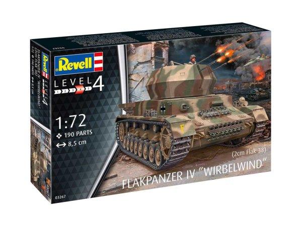 Revell Plastic ModelKit military - Flakpanzer IV Wirbelwind (2 cm Flak 38)