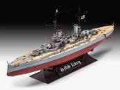 Revell Plastikový model lodě WWI Battleship SMS KÖNIG