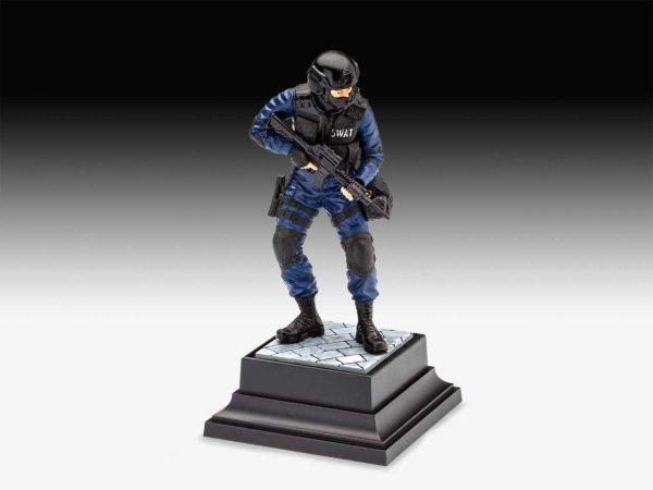 Revell Plastic ModelKit figurka - SWAT Officer