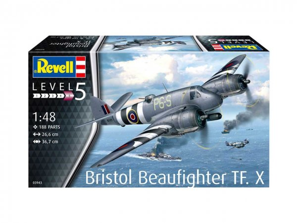Revell Plastikový model letadla Bristol Beaufighter TF. X