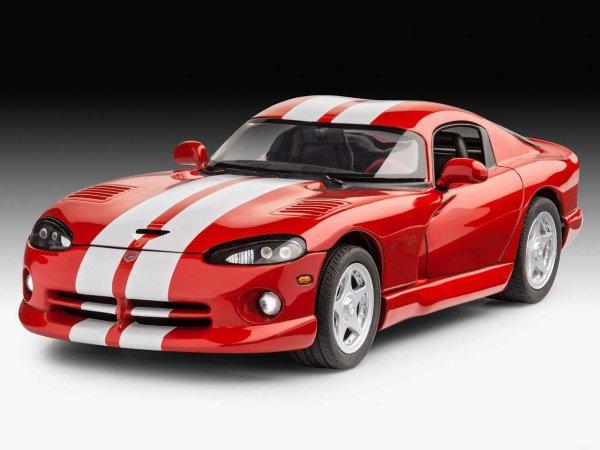 Revell Plastikový model auta Dodge Viper GTS