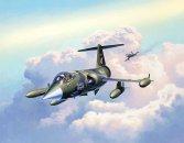Revell ModelSet - Plastikový model letadla F-104G Starfighter