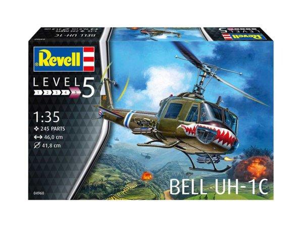 Revell Plastikový model vrtulníku Bell UH-1C