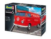 Revell Plastikový model auta VW T1 Kastenwagen
