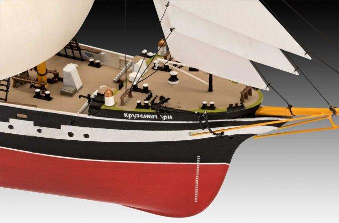 Revell Plastikový model plachetnice Russian Barque Kruzenshtern
