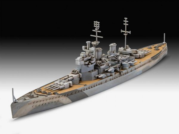 Revell Plastikový model lodě HMS King George V