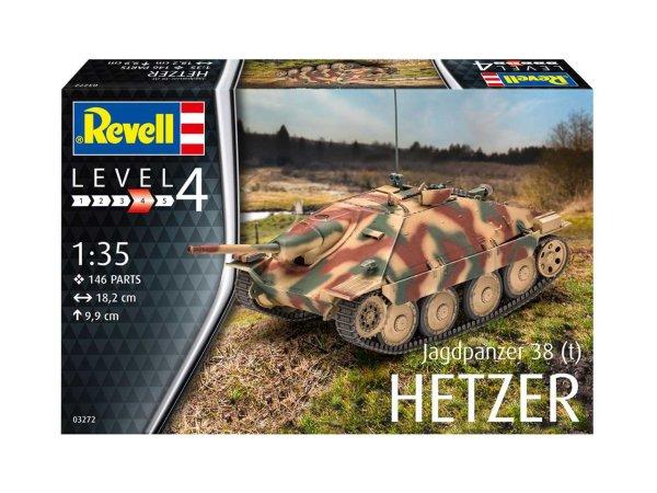 Revell Plastic ModelKit  military - Jagdpanzer 38 (t) HETZER