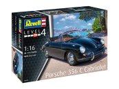 Revell Plastikový model auta Porsche 356 Cabriolet