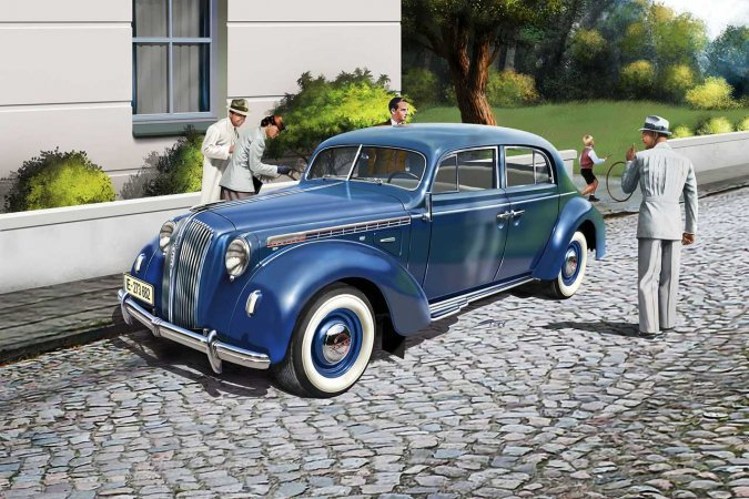 Revell Plastikový model auta Luxury Class Car Admiral Saloon