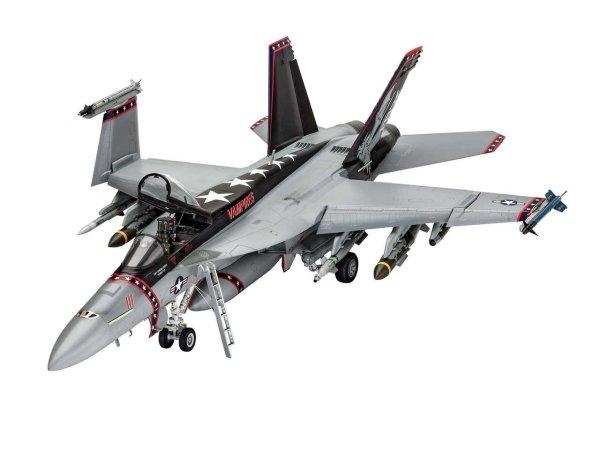 Revell Plastikový model letadla F/A-18E Super Hornet