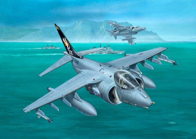 Revell Plastikový model letadla BAe Harrier GR.7