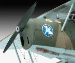 Revell Plastikový model letadla Bücker Bü131 Jungmann