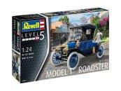 Revell Plastikový model auta Ford T Modell Roadster (1913)