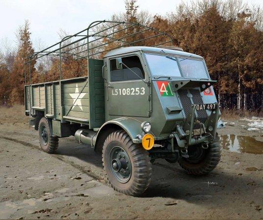 Revell Plastikový model military Fordson W.O.T. 6