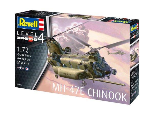 Revell Plastikový model vrtulníku MH-47 Chinook