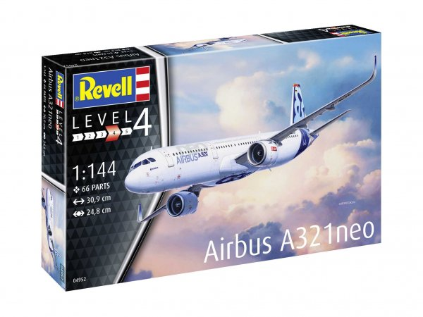 Revell Plastikový model letadla Airbus A321 Neo
