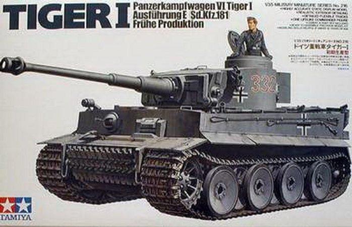 Tamiya Tiger I Early Production - Výprodej
