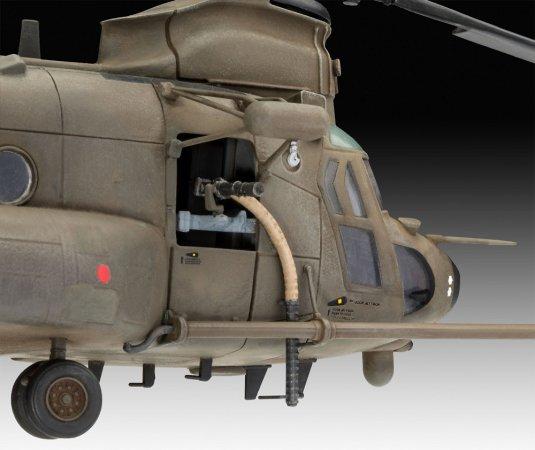 Revell ModelSet - Plastikový model vrtulníku MH-47 Chinook