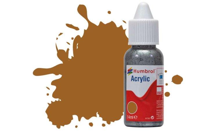 Humbrol Barva akrylová metalická - Měděná (Copper) - č. 12