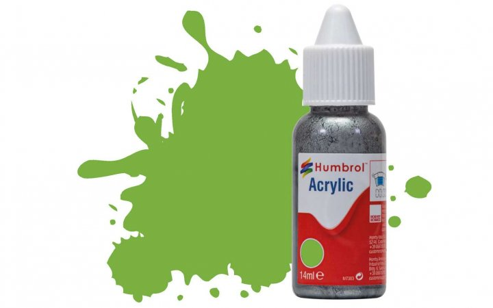 Humbrol Barva akrylová lesklá - Limetková (Lime) - č. 38
