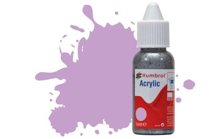 Humbrol Barva akrylová matná - Pastelově fialová (Pastel Violet) - č. 42
