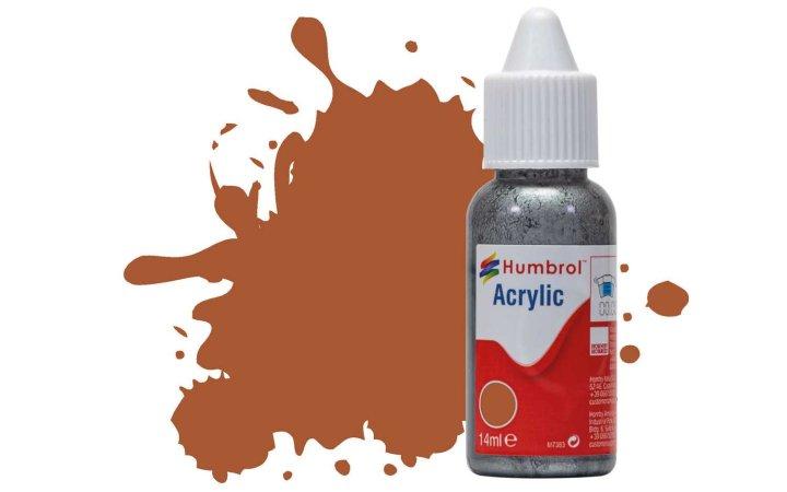 Humbrol Barva akrylová matná - Tělová (Leather) - č. 62