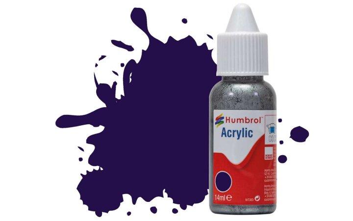 Humbrol Barva akrylová lesklá - Purpurová (Purple) - č. 68
