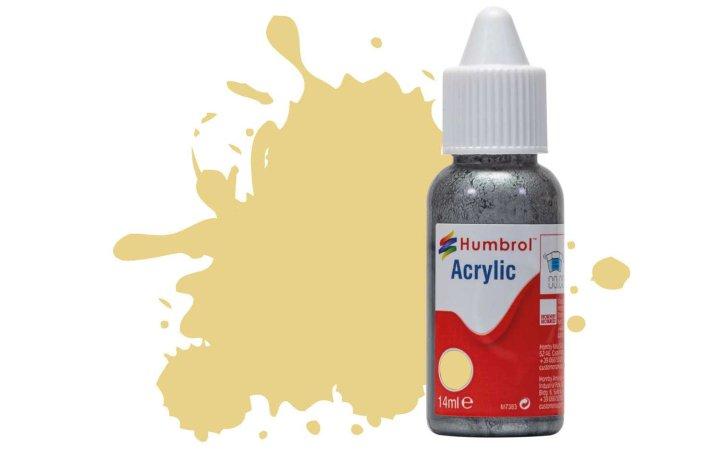 Humbrol Barva akrylová matná - Krémová (Cream) - č. 103